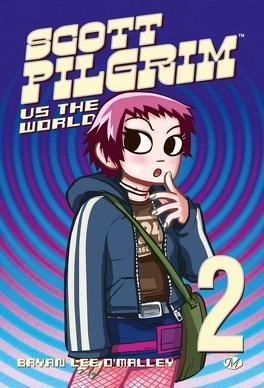 Couverture du livre : Scott Pilgrim, Tome 2: Scott Pilgrim vs. The World
