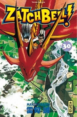 Couverture de Zatch Bell, Tome 30