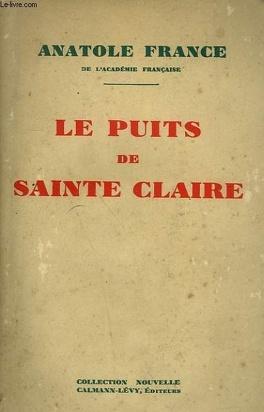 Couverture du livre : Le Puits de Sainte Claire