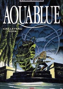 Couverture du livre : Aquablue, tome 5 : Projet Atalanta