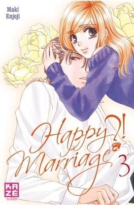 Couverture du livre : Happy Marriage ?!, Tome 3
