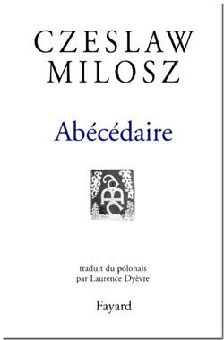 Abecedaire Livre De Czeslaw Milosz