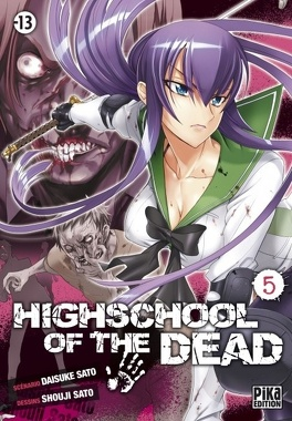 Couverture du livre : Highschool of the Dead, Tome 5