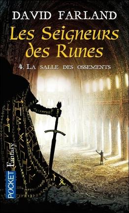 Couverture du livre : Les seigneurs des runes, Tome 4 : La salle des ossements