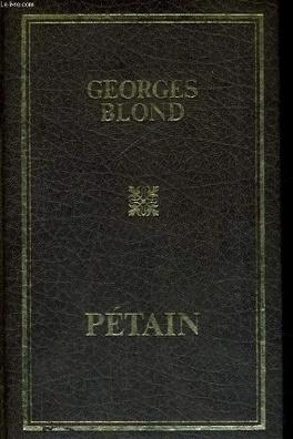 Couverture du livre : Pétain
