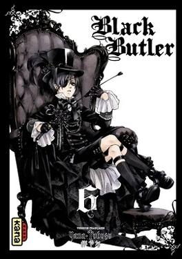 Couverture du livre : Black Butler, Tome 6