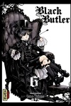 couverture Black Butler, Tome 6