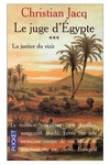 couverture Le Juge d'Égypte, Tome 3 : La Justice du vizir
