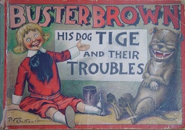Couverture du livre : Buster Brown, his dog Tige and their Troubles