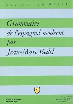 Couverture de Grammaire de l'espagnol moderne