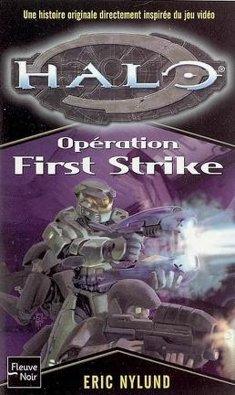 Couverture du livre : Halo, Tome 3 : Opération First Strike
