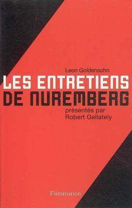 Couverture du livre : Les entretiens de Nuremberg