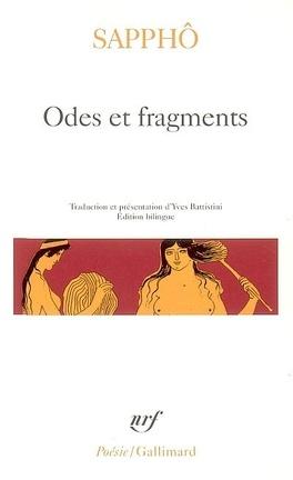 Couverture du livre : Odes et fragments