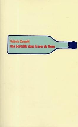 Couverture du livre : Une bouteille dans la mer de Gaza