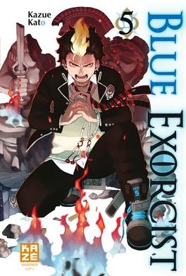 Couverture du livre : Blue exorcist, Tome 5