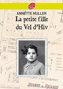 Couverture du livre : La petite fille du Vel d'Hiv
