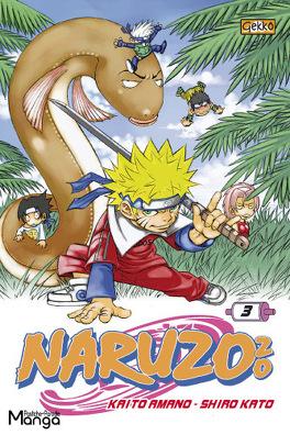Couverture du livre : naruzozo tome 3 Jungle Fever