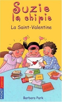 Couverture du livre : Suzie la Chipie, tome 14 : La Saint-Valentine