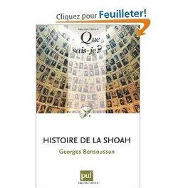 Couverture du livre : Histoire de la Shoah