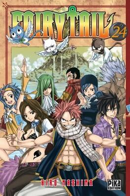Couverture du livre : Fairy Tail, Tome 24