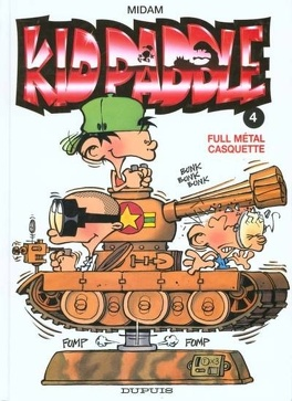 Couverture du livre : Kid Paddle, Tome 4 : Full métal casquette