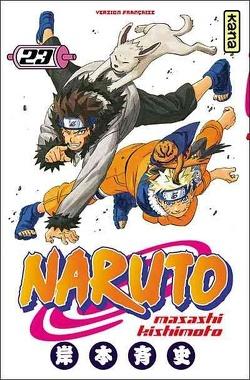 Couverture de Naruto, Tome 23 : Crise…!!