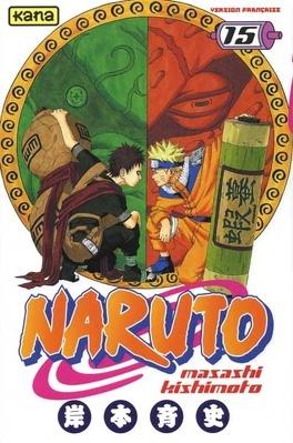 Couverture du livre : Naruto, Tome 15 : Le répertoire ninpô de Naruto !!