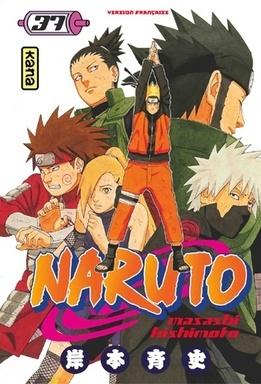 Couverture du livre : Naruto, Tome 37 : Le combat de Shikamaru !!