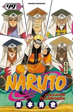 Couverture du livre : Naruto, Tome 49 : Le Conseil des cinq Kage… !!