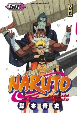 Couverture du livre : Naruto, Tome 50 : Duel à mort dans la prison aqueuse !!