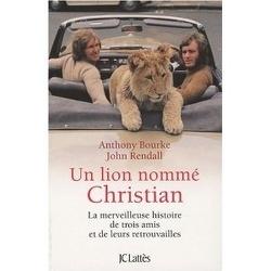 Couverture de Un lion nommé Christian