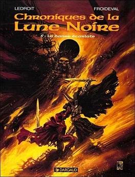 Couverture du livre : Chroniques de la Lune Noire, tome 5 : La danse écarlate