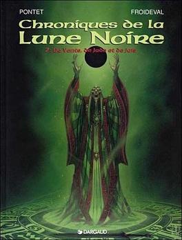 Couverture du livre : Chroniques de la Lune Noire, tome 7 : De vents, de jade et de jais