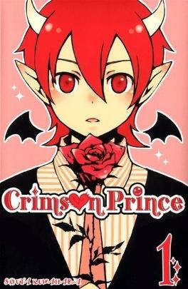 Couverture du livre : Crimson Prince, tome 1