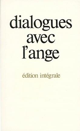 Couverture du livre : Dialogues avec l'ange