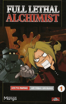 Couverture du livre : Full Lethal Alchimist, Tome 1