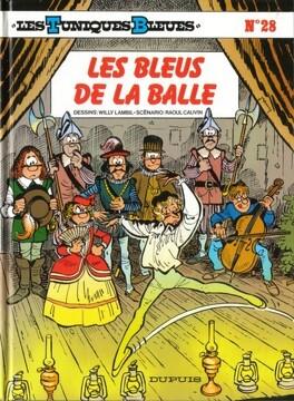 Couverture du livre : Les Tuniques bleues, Tome 28 : Les Bleus de la balle