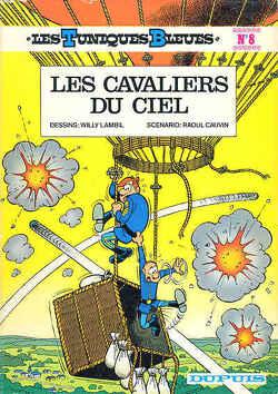 Couverture de Les Tuniques bleues, Tome 8 : Les Cavaliers du ciel