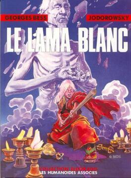 Couverture du livre : Le Lama blanc, Tome 1 : Le Premier Pas