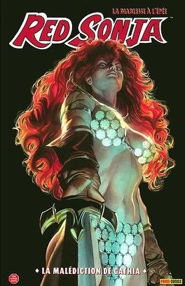 Couverture du livre : Red Sonja , tome 1 :  She-devil with a sword