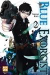 couverture Blue exorcist, Tome 2