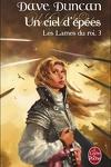 couverture Les Lames du Roi, Tome 3 : Un ciel d'épées