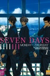 couverture Seven Days, Tome 1