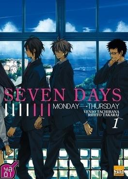Couverture du livre : Seven Days, Tome 1