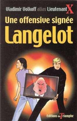 Couverture du livre : Langelot, tome 8 : Une offensive signée Langelot