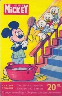 Couverture du livre : Le Journal de Mickey N°1