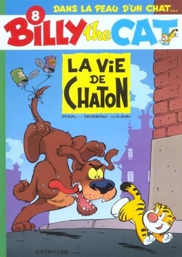 Couverture du livre : Billy the Cat, Tome 8 : La Vie de chaton