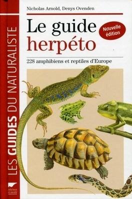 Couverture du livre : Le guide herpéto