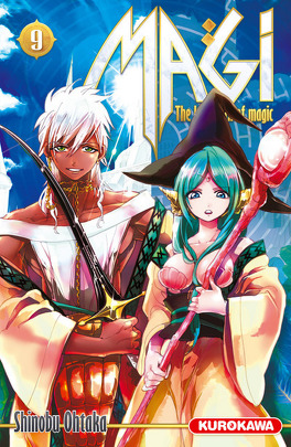 Couverture du livre : Magi : The Labyrinth of Magic, Tome 9