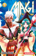 Magi : The Labyrinth of Magic, Tome 9